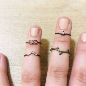 Urban Outfitters Costume Ring Bundle